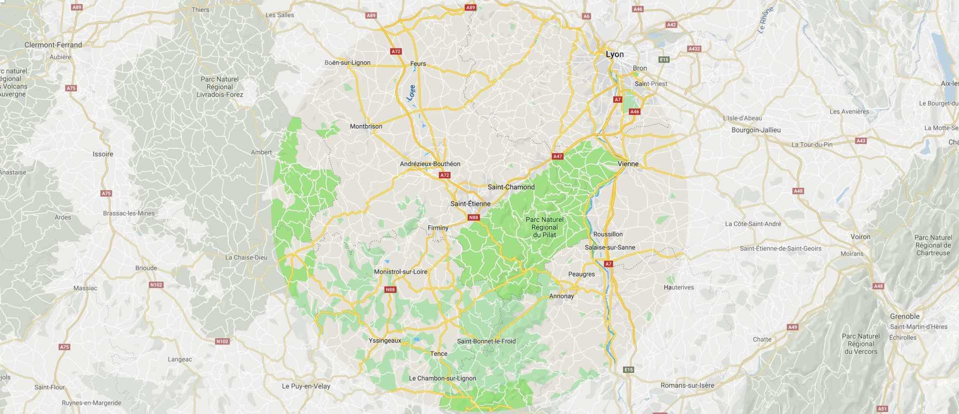 R Porte interveint sur 60 km autour de Saint-Etienne